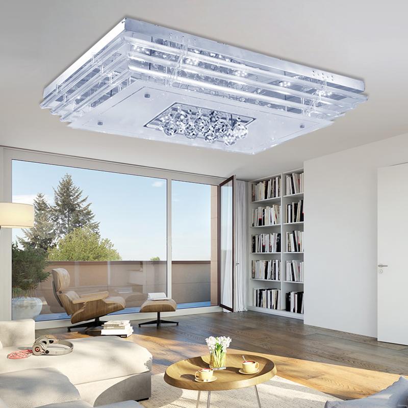 48w kristall led deckenlampe deckenleuchte pendelleuchte flur wandlampe kaitwei ebay. Black Bedroom Furniture Sets. Home Design Ideas