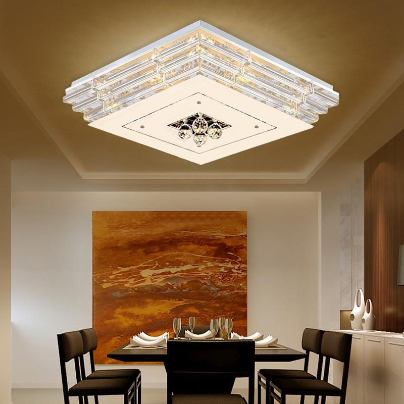 36w warmwei kristall led deckenleuchte deckenlampe wandleuchte modern leuchte ebay. Black Bedroom Furniture Sets. Home Design Ideas