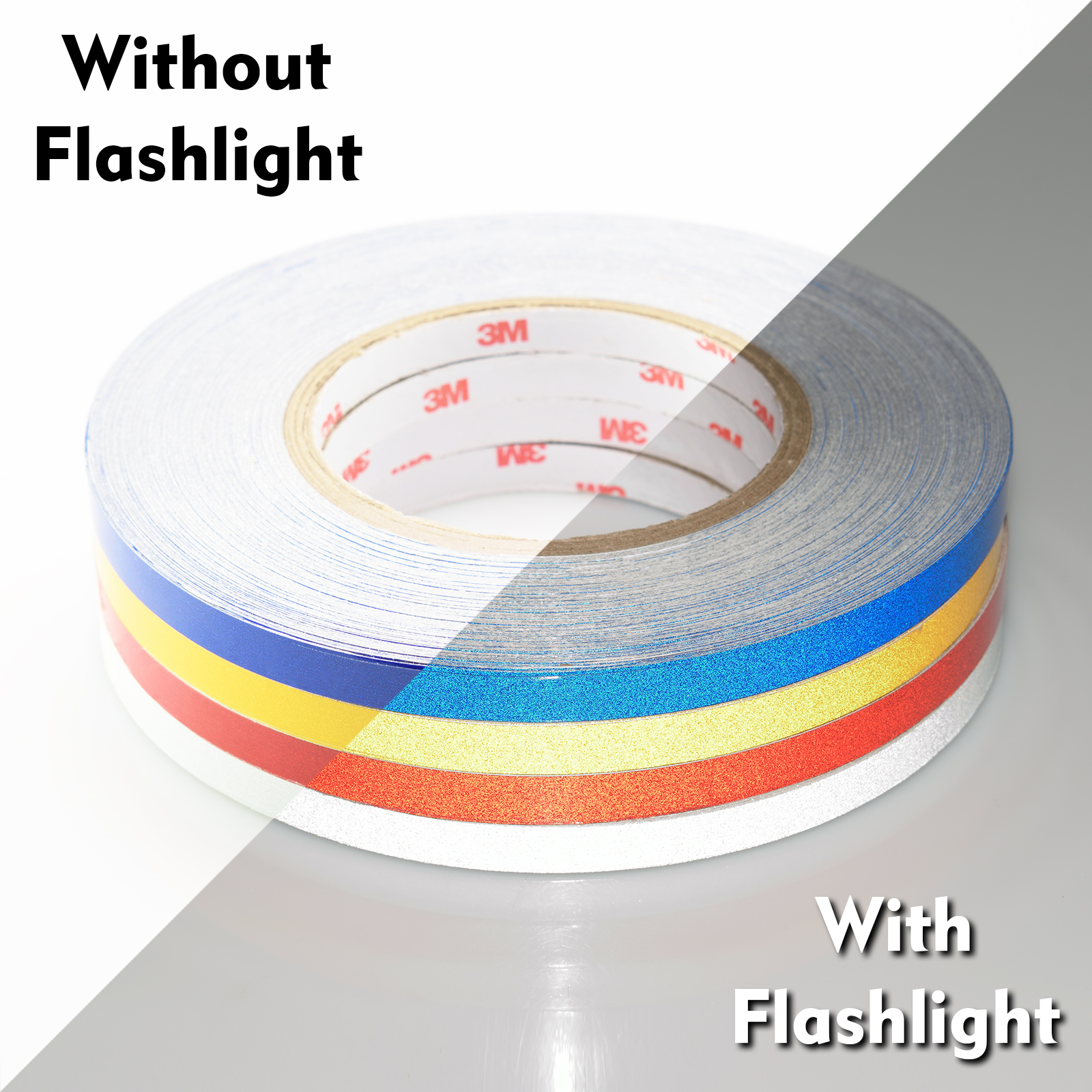 3m Silver Reflective Tape Safety Self Adhesive Striping