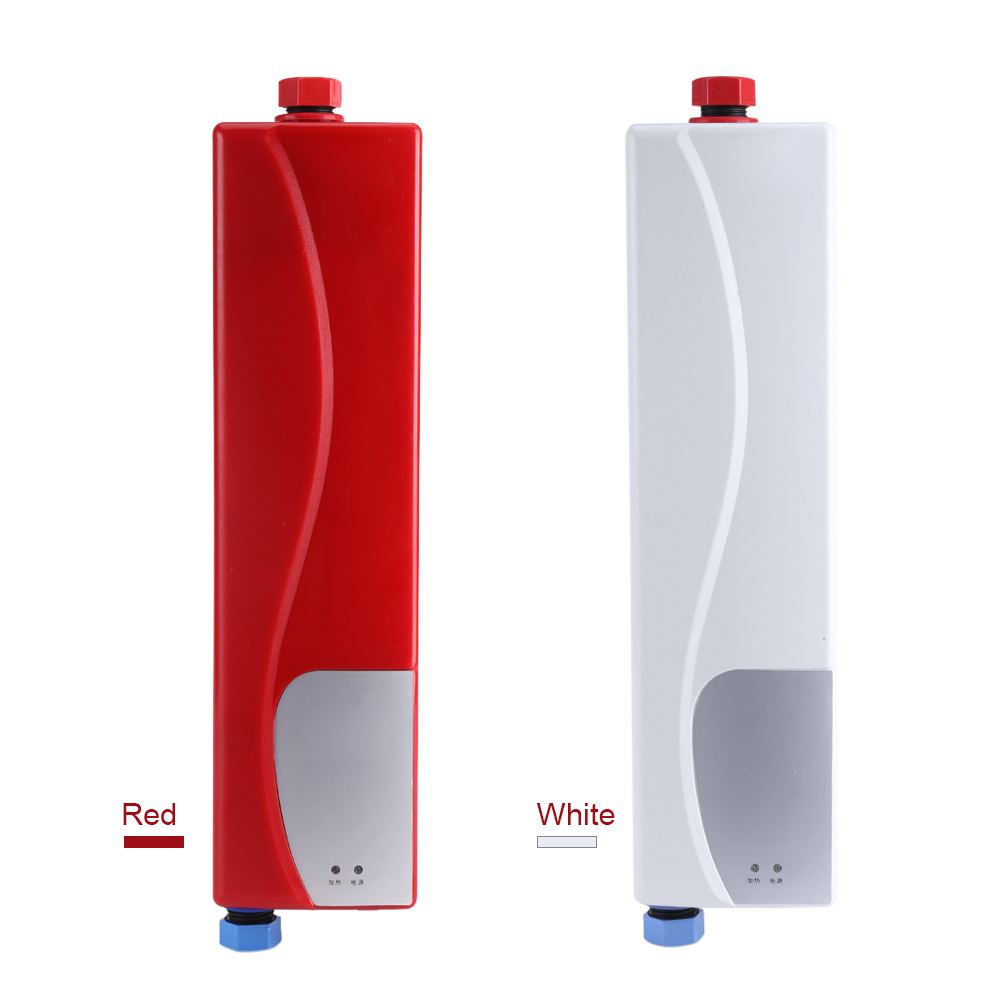 220v 3000w electric tankless instant hot water heater for 3 bathroom tankless water heater