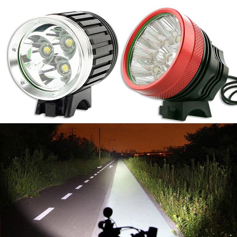 fahrradlampe 3 9 cree t6 led fahrradlicht fahrradbeleuchtung r cklicht lampenset ebay. Black Bedroom Furniture Sets. Home Design Ideas