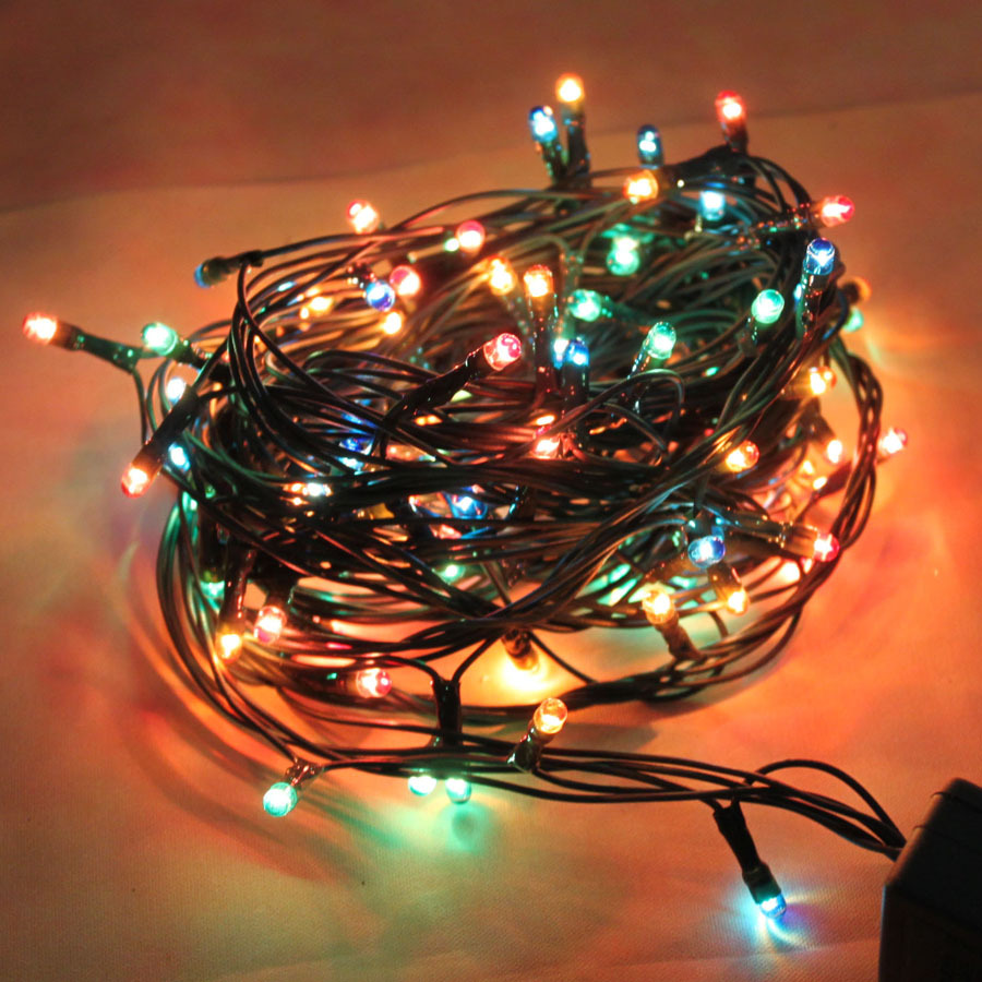 Led string fairy lights indoor outdoor garden christmas