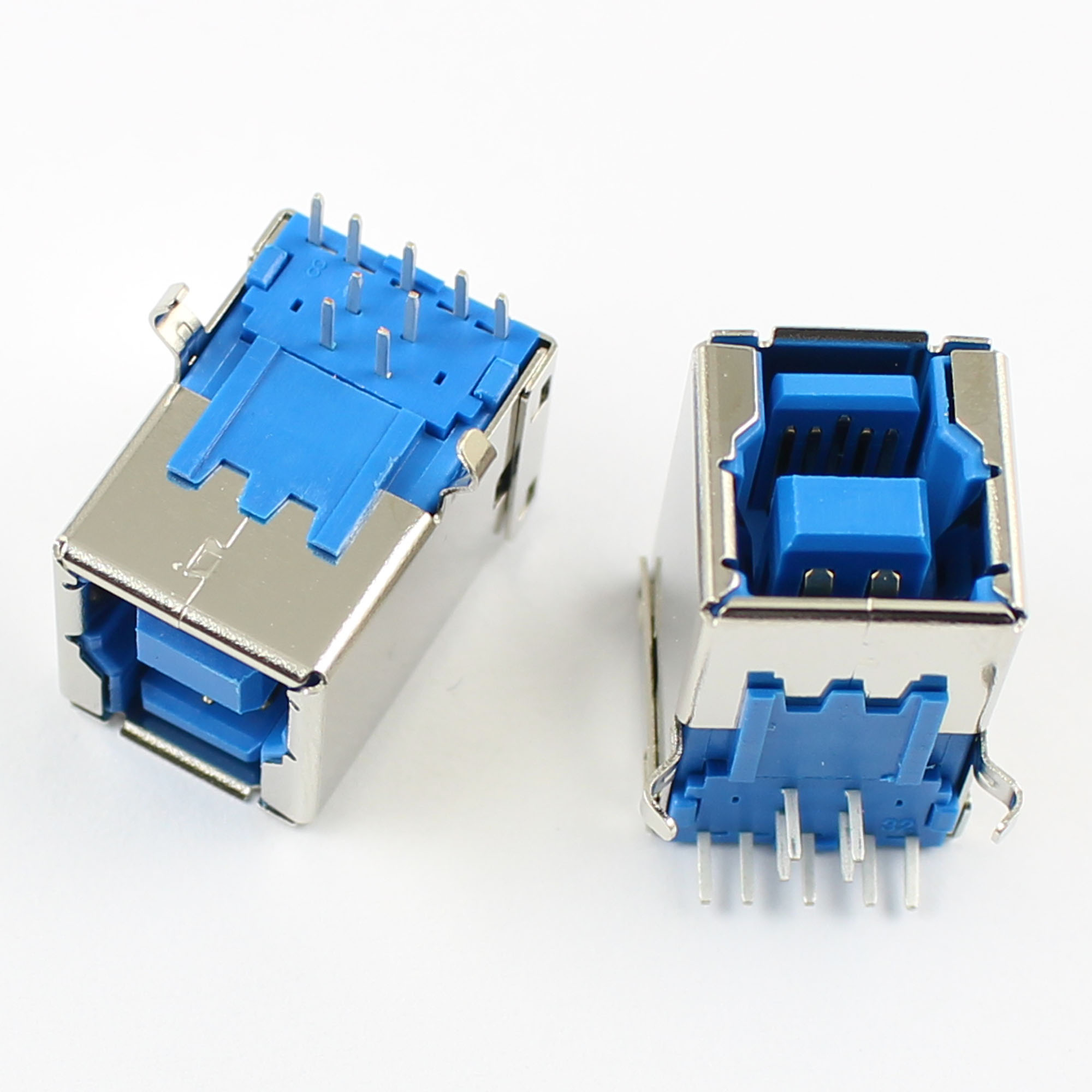 5pcs usb 3 0 female b type 9 pin dip right angle pcb connector for printer port ebay. Black Bedroom Furniture Sets. Home Design Ideas
