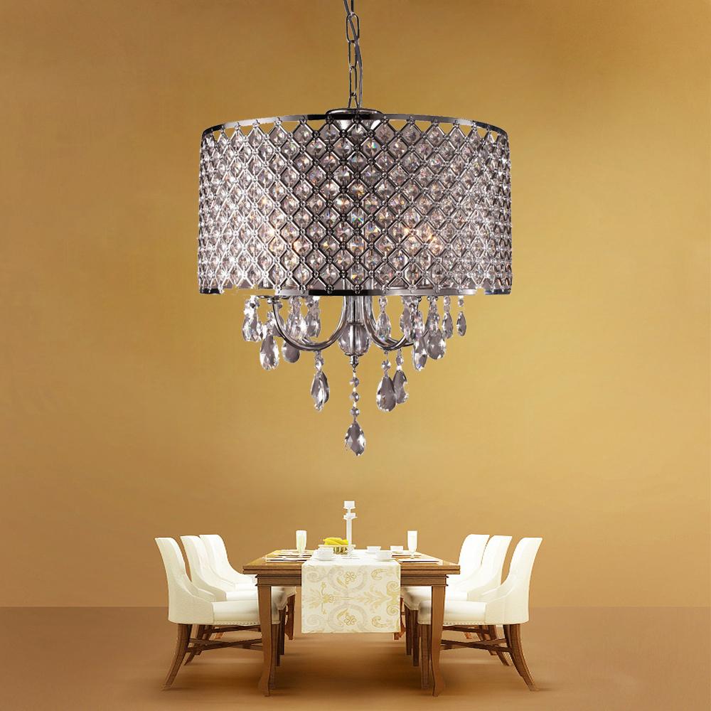 kronleuchter kristall h ngeleuchte h ngelampe pendelleuchte wohnzimmer esszimmer ebay. Black Bedroom Furniture Sets. Home Design Ideas