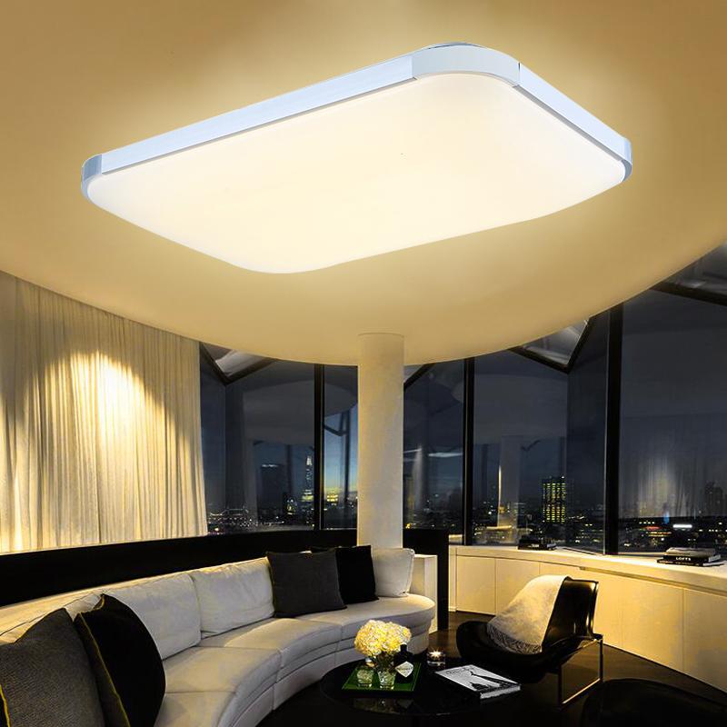 96w pannello lampada led da soffitto plafoniera corridoio - Luce soffitto bagno ...