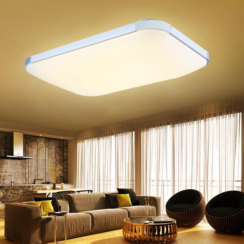 96w panel led deckenlampe deckenleuchte flurleuchte wandlampe badleuchte lampe ebay. Black Bedroom Furniture Sets. Home Design Ideas