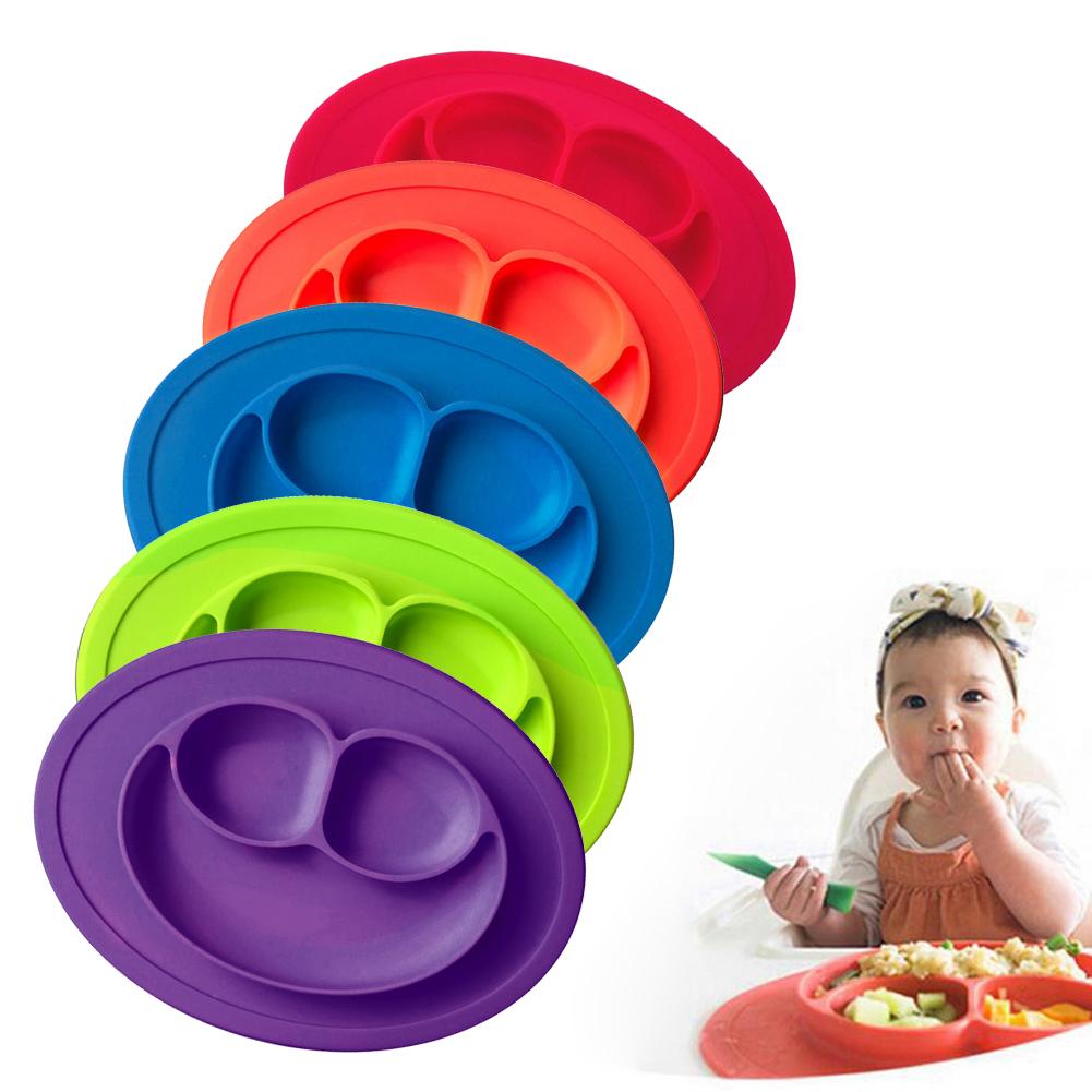 silikon matte baby kids saug tabelle food tray tischset teller sch ssel dish ebay. Black Bedroom Furniture Sets. Home Design Ideas