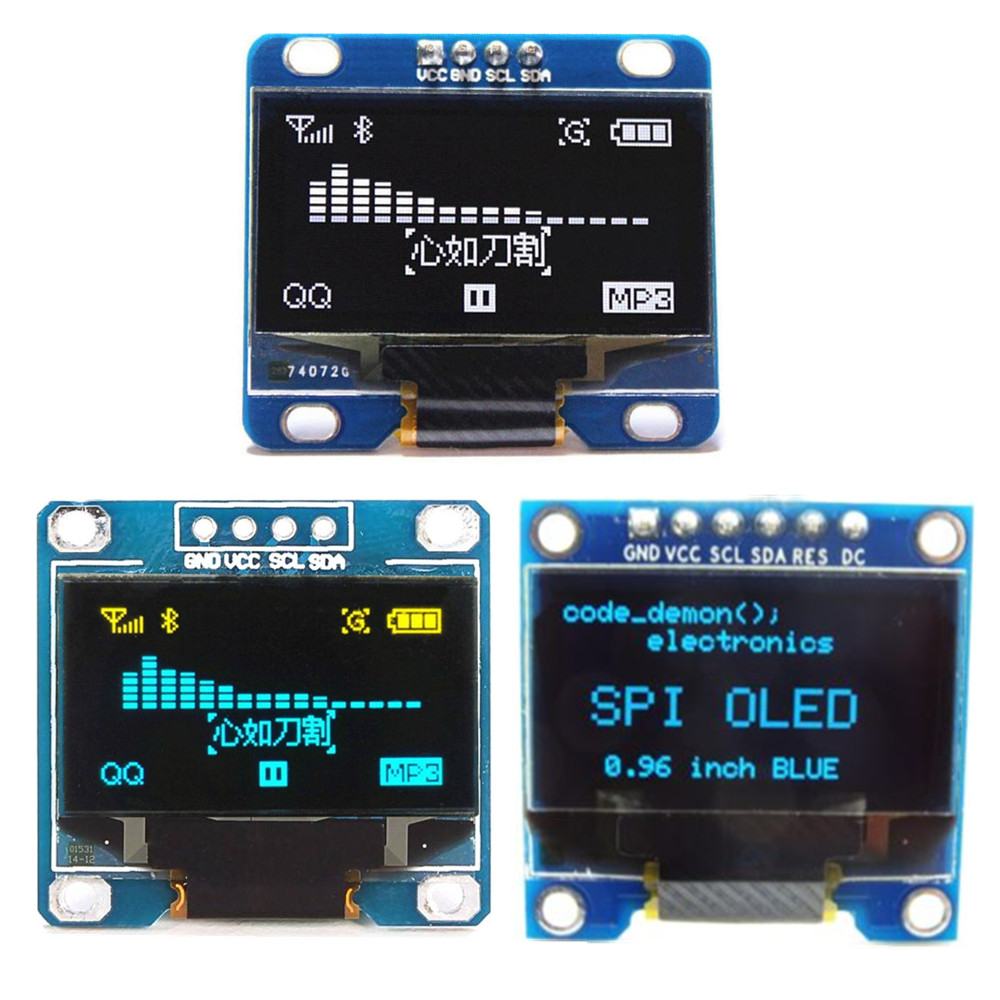Quot spi serial oled lcd display screen