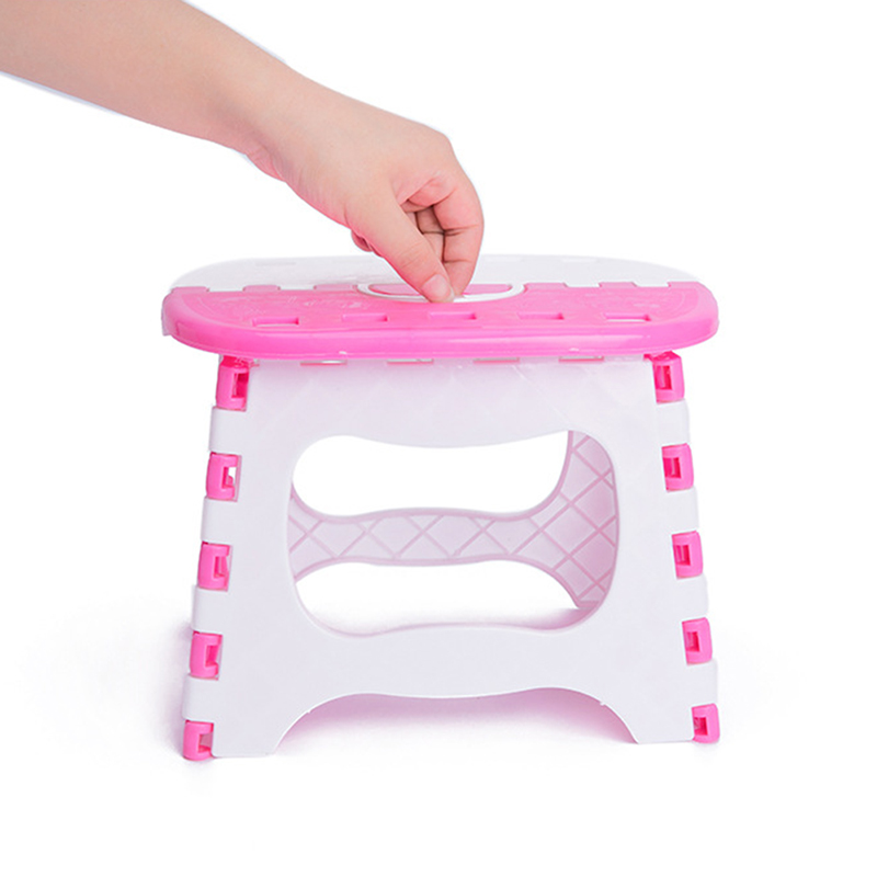 Folding Step Stool Portable Home Outdoor Foldable Bench
