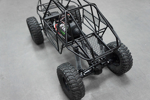 Steel Frame Body Roll Cage Chassis Black for 1:10 Axial SCX10 RC ...