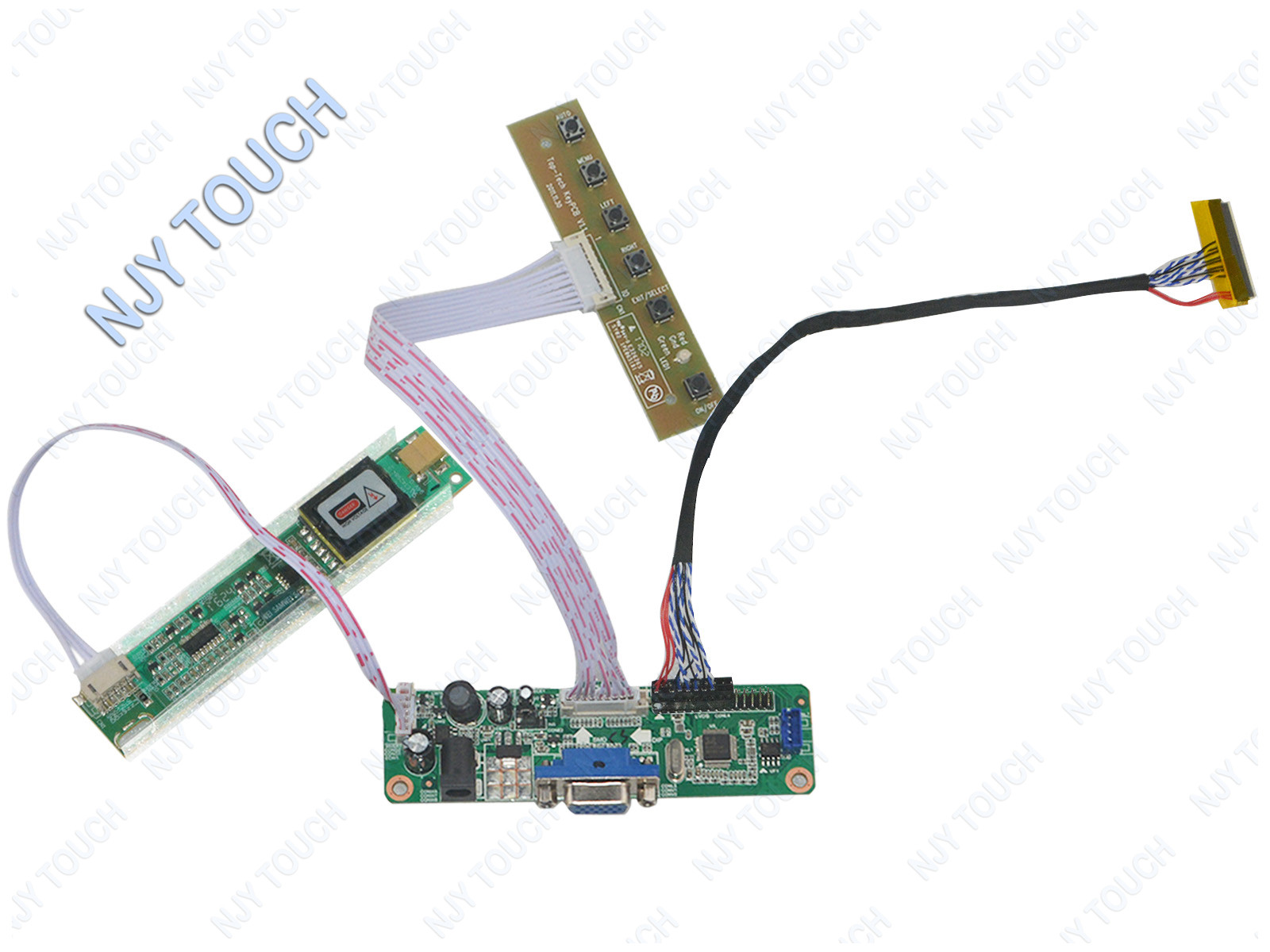 f945ff5d32ef5620 universal vga controller board kit driver lvds inverter for lcd LCD Monitor Schematic at readyjetset.co