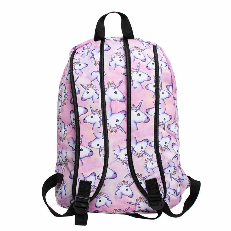 Multi Colour Unicorn Rainbow Bag Fantasy Backpack Rucksack