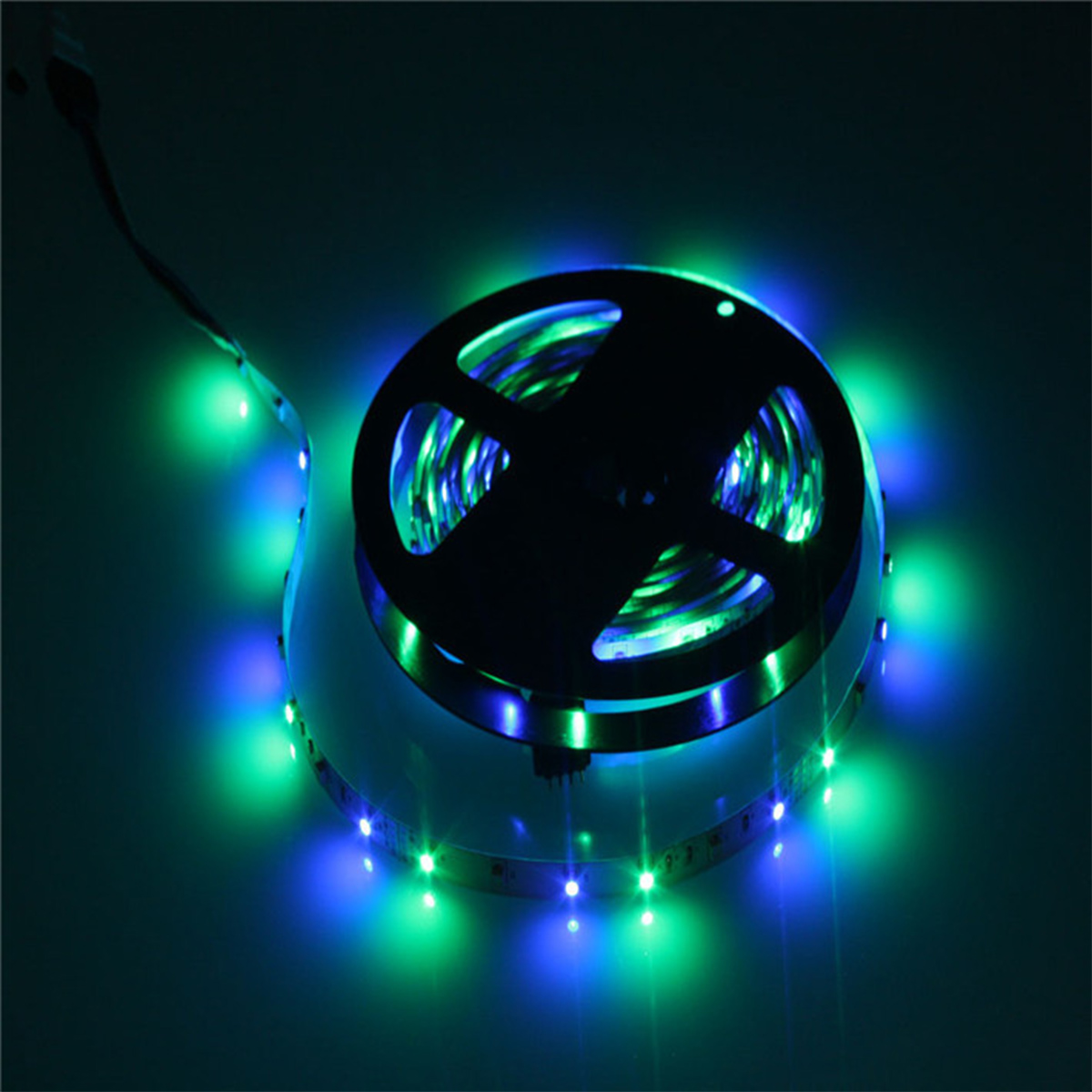 20m 4 5m smd 3528 led rgb streifen strip leiste 44 key fernbedienung ip44 ebay. Black Bedroom Furniture Sets. Home Design Ideas