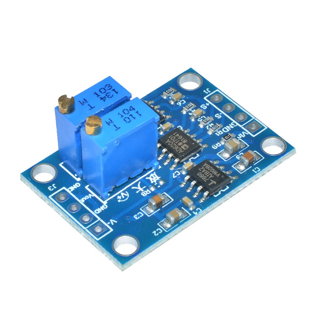 AD620 Microvolt MV Voltage Amplifier Signal Instrumentation Module Board GW