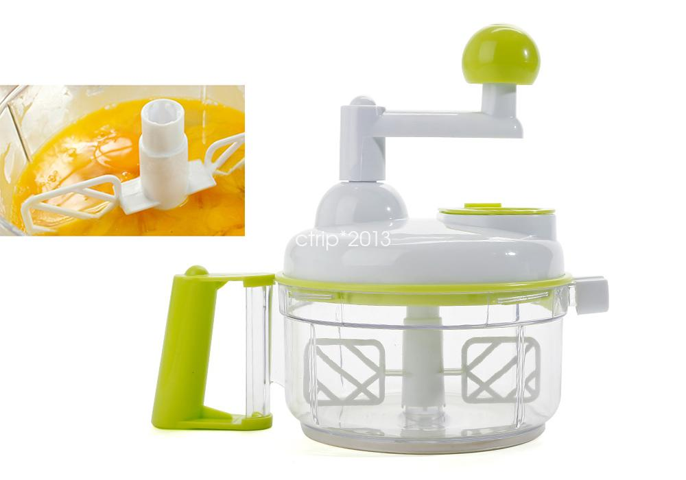 Manual Food Processor ~ Easy pull manual food processor chopper mixer blender ebay