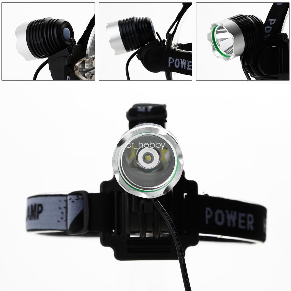 agm 1600lm led fahrradbeleuchtung fahrradlampe kopflampe 3600mah akku aus de. Black Bedroom Furniture Sets. Home Design Ideas