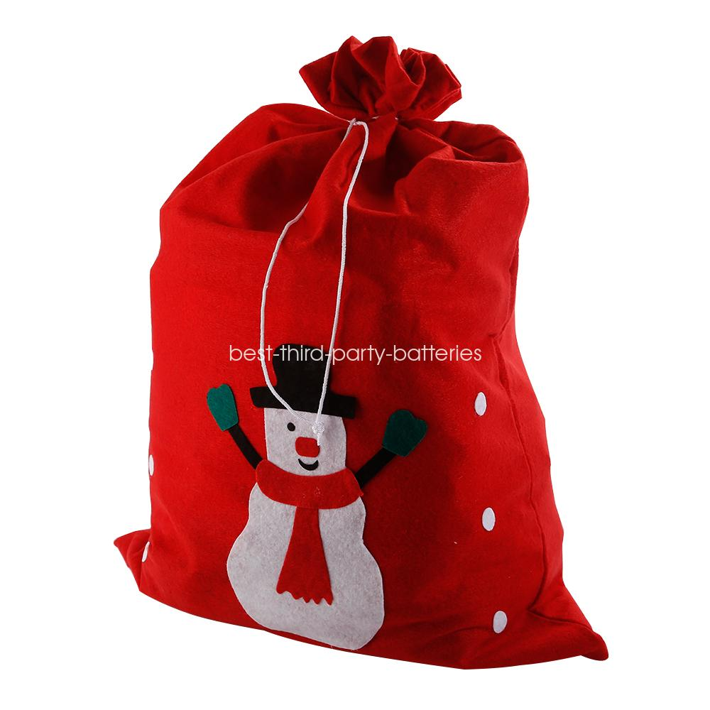 Gift Bag Toys : Large santa sack father christmas gift present bag red