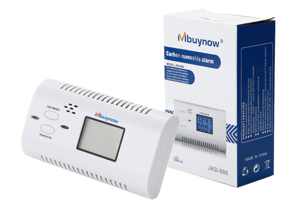 rauchmelder melder kohlenmonoxid alarmanlagen co co2 gaswarner gas detektor de ebay. Black Bedroom Furniture Sets. Home Design Ideas