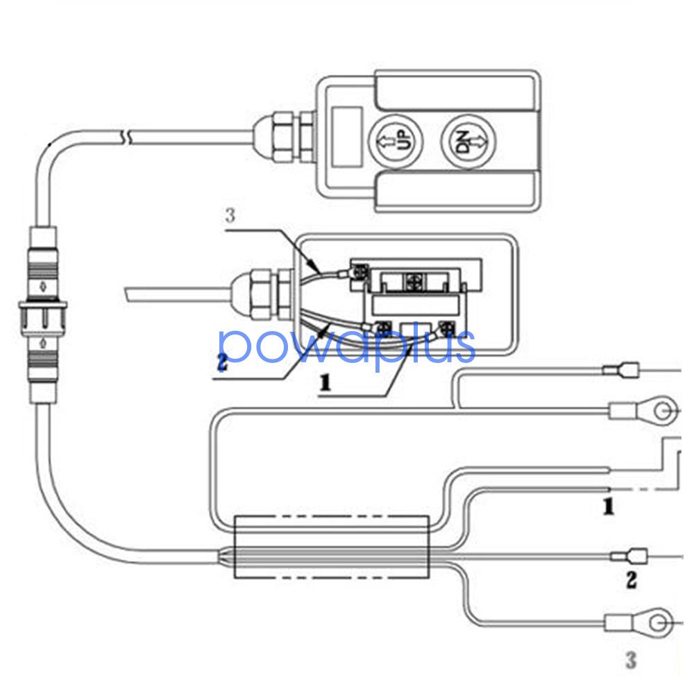 6 Quart Dc12v 2200w Single Acting Hydraulic Pump Power