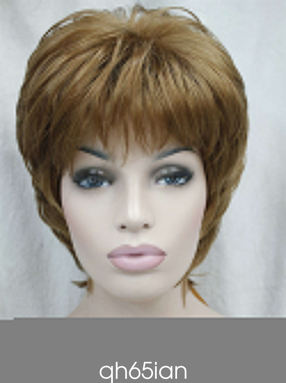 Ladies Wig Straight Women Short Natural Hair Cosplay Wigs