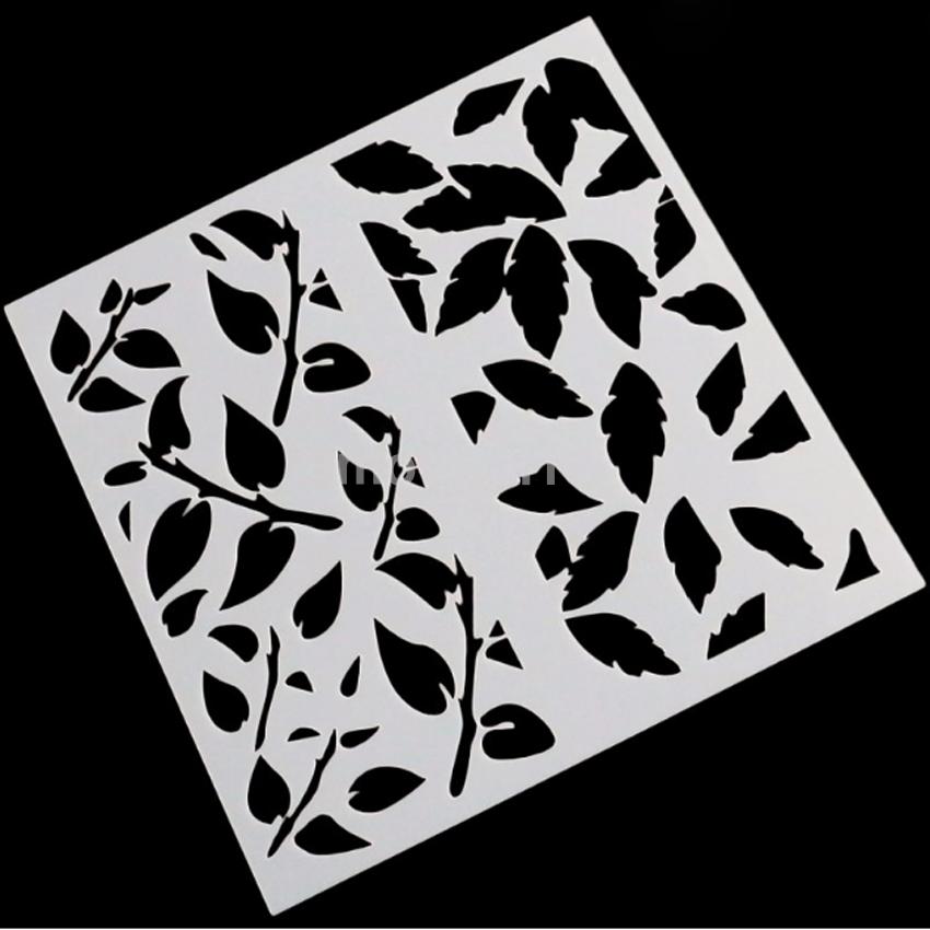 Airbrush Cake Layering Stencils Templates Scrapbooking ...