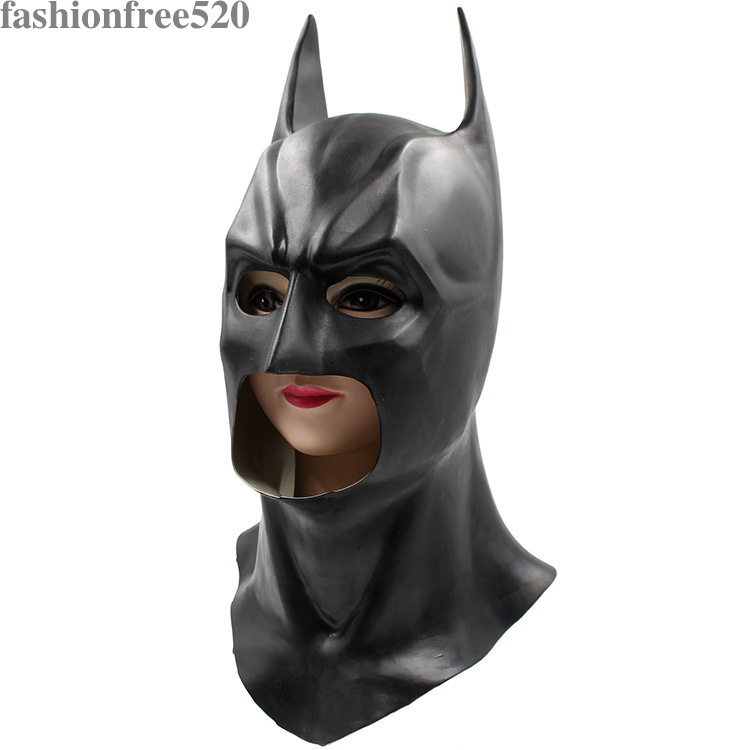 how to make a latex mask batman