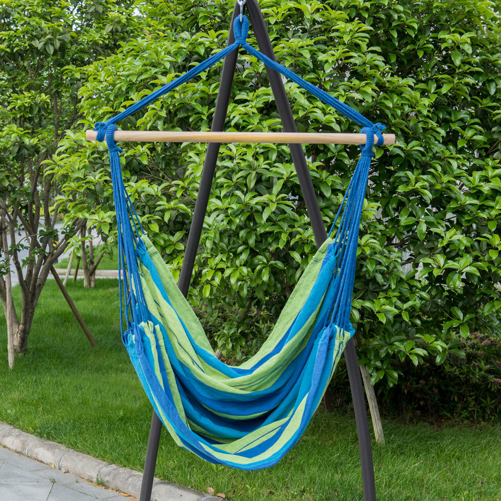 Hammock Hanging Rope Chair Porch Swing Seat Patio