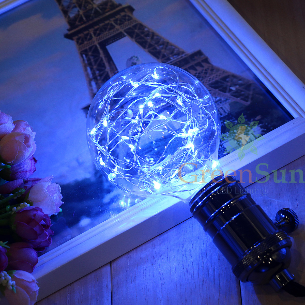 edison e27 led deko stern kugel lichterkette leuchtmittel dekoleuchte nachtlicht ebay. Black Bedroom Furniture Sets. Home Design Ideas