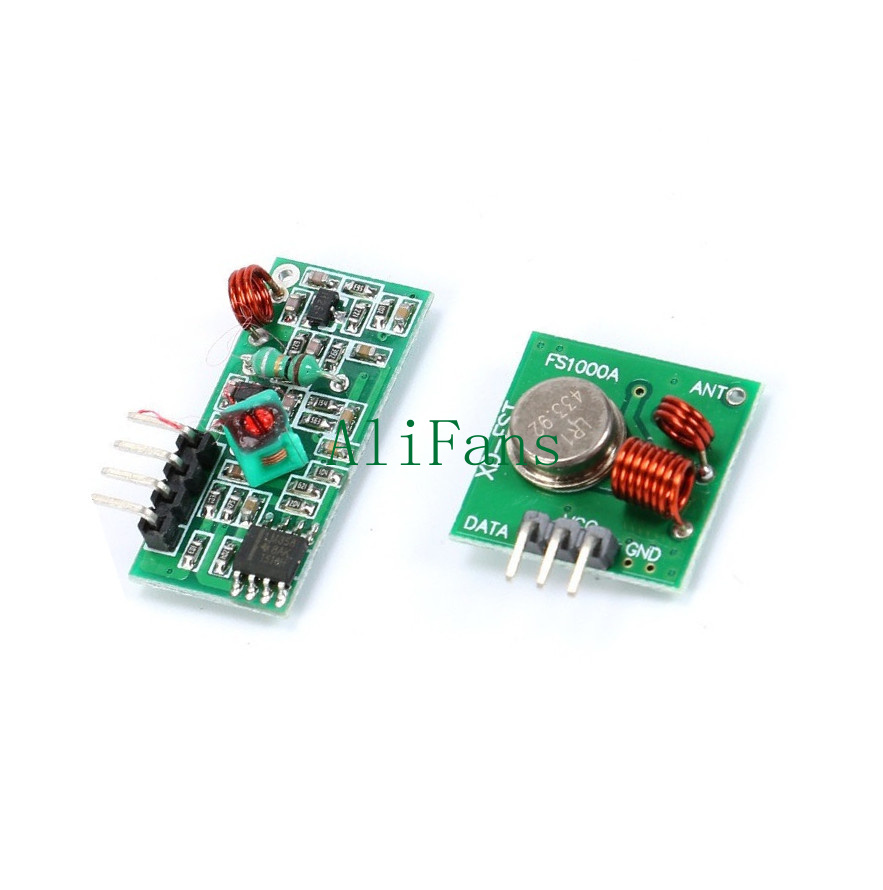 5PCS 315Mhz RF Transmitter and Receiver Link Kit for Arduino//ARM//MCU Remote S