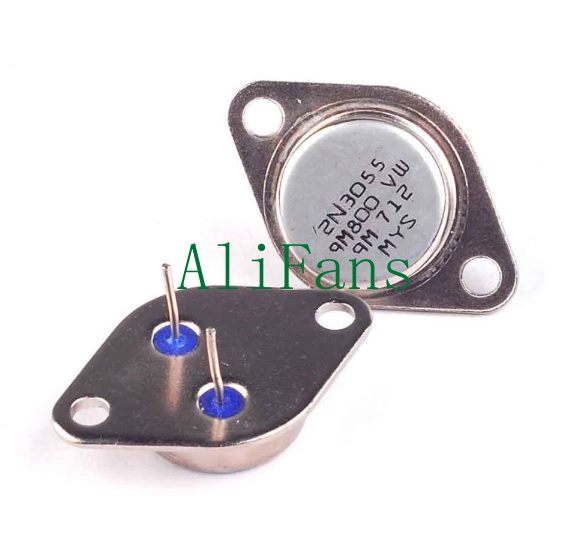 10PCS 2N3055 TO-3 NPN AF Amp Audio Power Transistor 15A//60V NEW