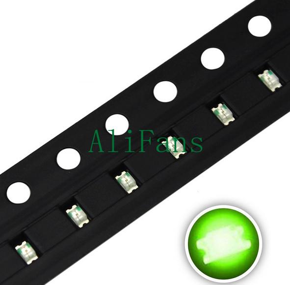 1000PCS SMD SMT 3528 Green LED Super bright Green LED lamp Bulb NEW