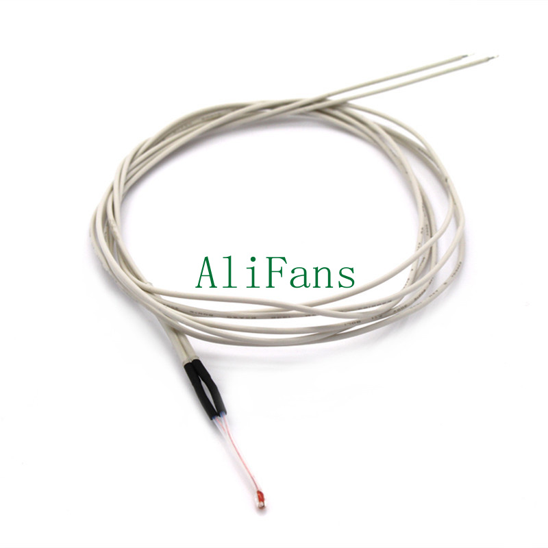 2PCS Reprap NTC 3950 Thermistor 100K with 1 Meter wire for 3D Printer NEW