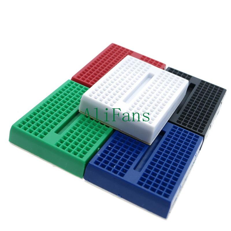 5PCS colourful Solderless Prototype Breadboard 170 Tie-points for Arduino Shield
