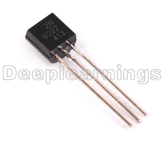 100pcs 2N6028 6028 Thyristor PROG unijunct 40 V TO92 nouveau