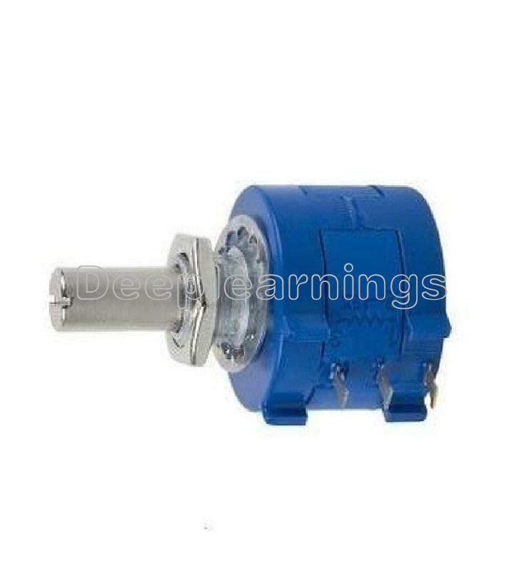 2PCS 500 Ohm 3590S-2-501L Rotary Wirewound Precision Potentiometer Pot 10 Turns