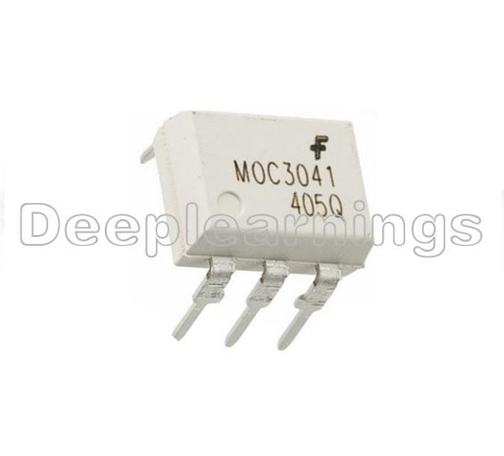 10PCS OPTOCOUPLER FAIRCHILD//MOTOROLA//QTC DIP-6 MOC3023 MOC3023M MOC3023VM