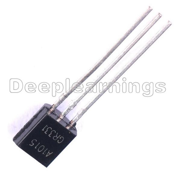 200pcs 2SA1015-GR TOSHIBA Audio Transistor PNP. A1015