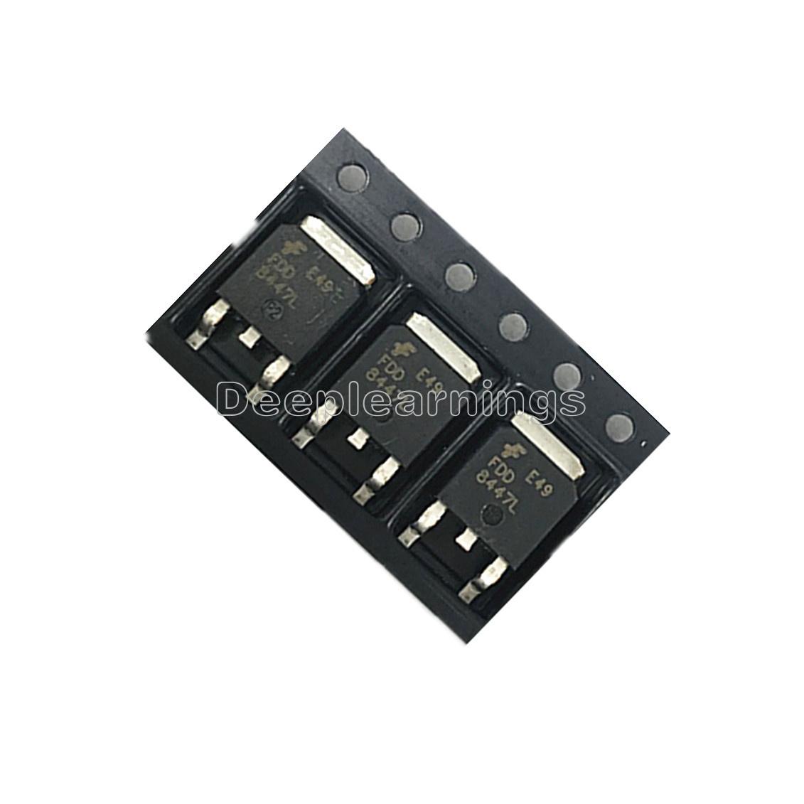50PCS FDD8447L MOSFET N-CH 40 V 15.2 A DPAK TO252 FDD8447L