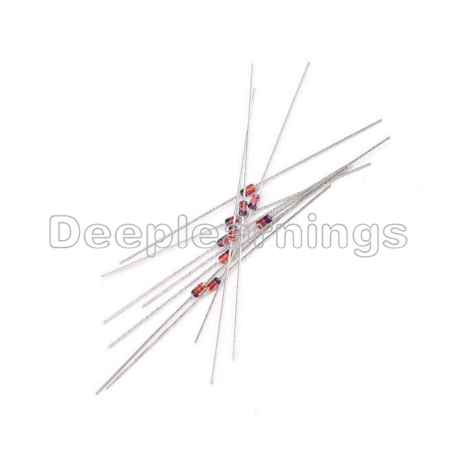 500pcs 1n914 small signal diode 200ma 100v top quality