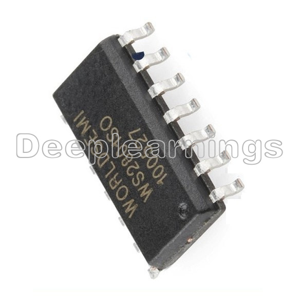 5x WS2801SO 3-Channel Constant Current PWM LED Driver IC