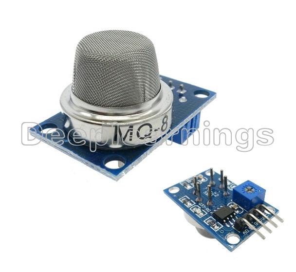 1PCS MQ8 MQ-8 Hydrogen Gas Sensor Module Gas Sensor Alarm Module For Arduino