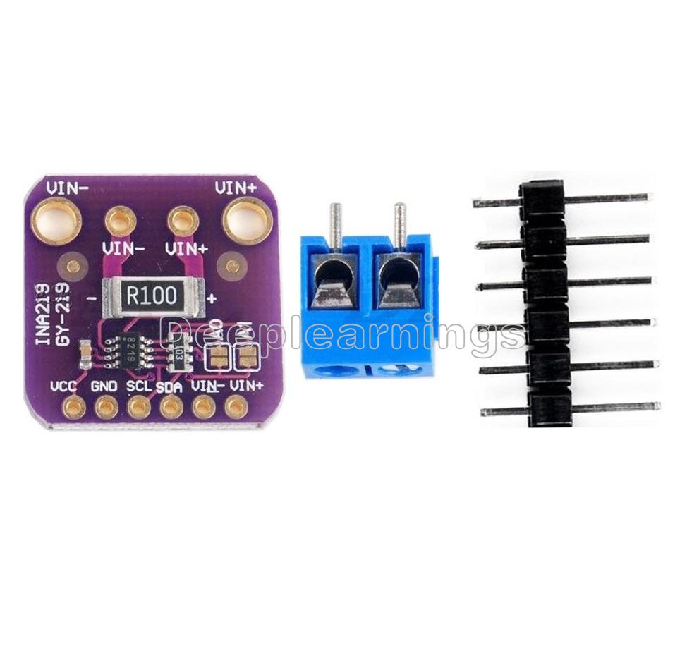 INA219 GY-219 Current Power Supply Sensor Breakout Module Board Module J6A4