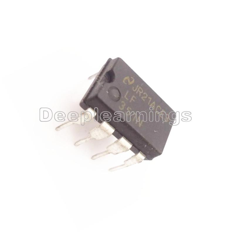 5PCS LF351 LF351N High Speed Wide Bandwith J-FET Op Amp IC