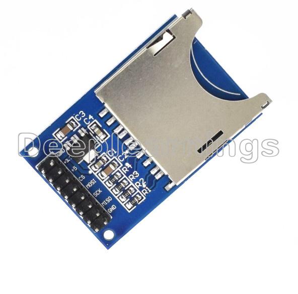 1//2//5//10PCS SD Card Module Slot Socket Reader For Arduino ARM MCU Read And Write