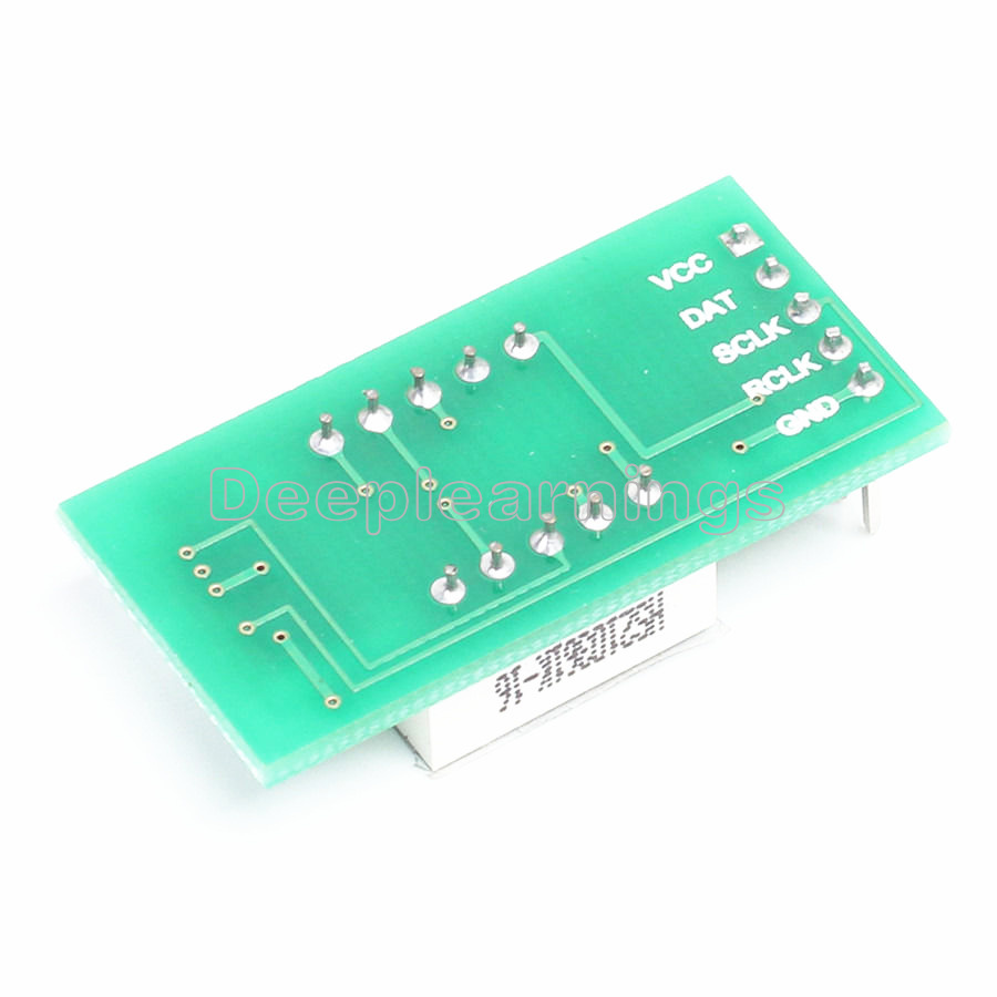 NEW 74HC595 2Bit LED Nixie Tube Display Module Applied 3.3V-5V Digital Tube