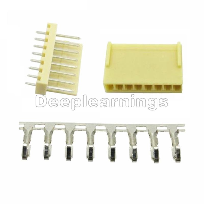 100 pcs//Lots  KF2510 2.54 5P Connector Leads Header Housing Pin header Terminal