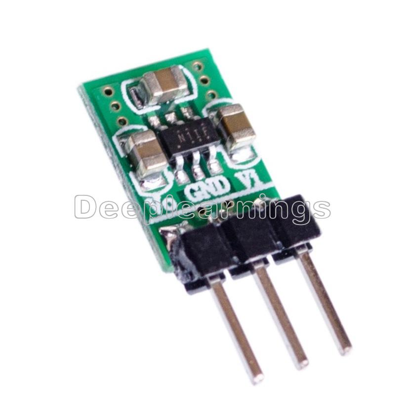 DC-DC Step Down Step Up Converter 1.8V-5V to 3.3V Wifi Bluetooth ESP8266  CC1101