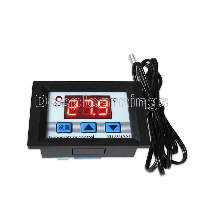 Sonstige Elektronik & Messtechnik 1X DC 12V Digital LED Temperature Controller 10A Thermostat Control Switch Probe Elektronik & Messtechnik