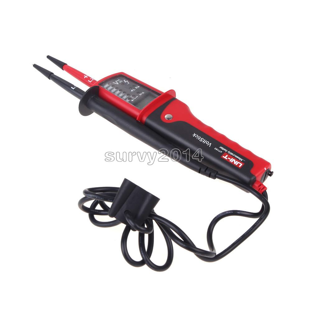 Ut15c Uni T Waterproof Lcd Digital Electrical Voltage Continuity Main Indicator Circuit Tester