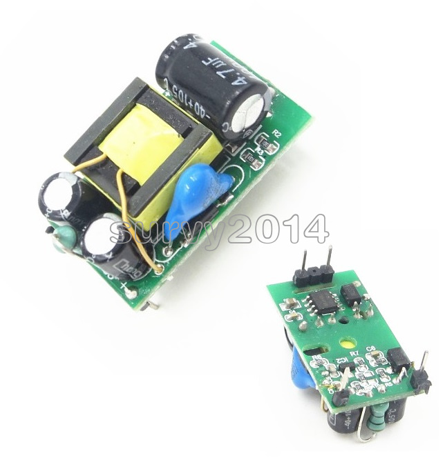 5PCS NEW AC 220V to DC 5V 500mA Step-Down Isolated Switching Power Supply Module